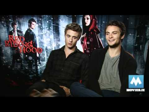 Max Irons & Shiloh Fernandez  for RED RIDING HOOD