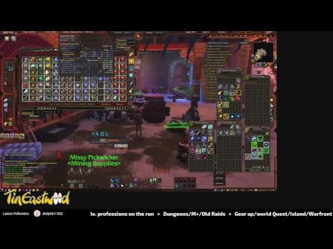 World Of Warcraft BFA - Multiboxing Pet/toy And Ghost Iron/Trillium Ore Farming