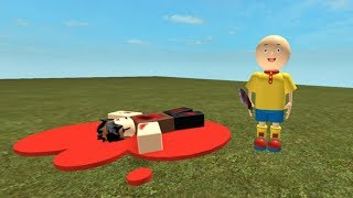 Survive from Caillou   Roblox