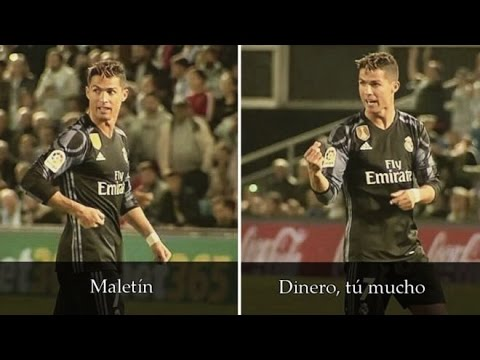 "Cristiano Ronaldo ""Maletín, Dinero tu mucho""  vs Celta de Vigo 17/05/2017"