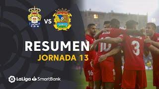 Resumen de UD Las Palmas vs CF Fuenlabrada (1-3)