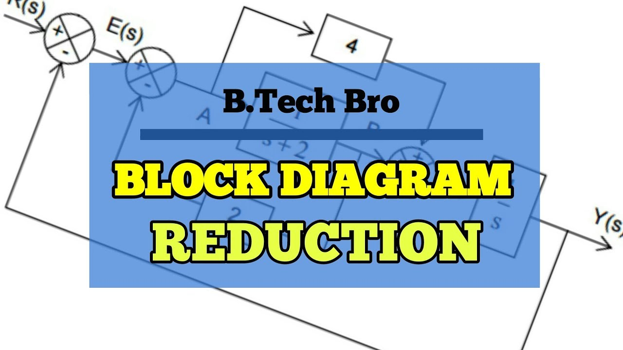 hight resolution of  hindi block diagram reduction full explanation with examples short cut