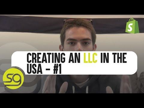 Creating An LLC In The USA - Case Study Part #1