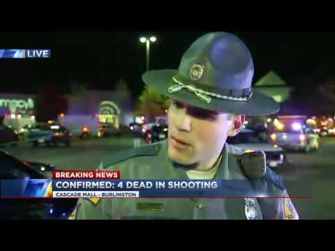 Washington mall shooting: Gunman kills 5 people, disappears