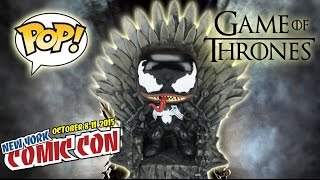 NYCC 2015 Game of Thrones Iron Throne 6 inch Funko POP Review