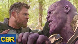 Thanos And Thor Rematch In Marvel