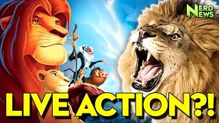 """Lion King """"Live Action"""" Remake? EVERYTHING WE KNOW about Jon Favreau's Reboot!"""