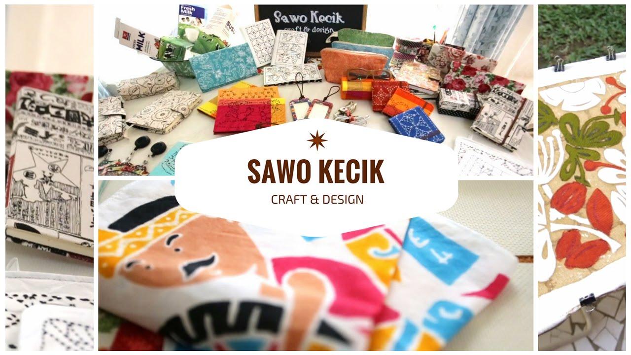 Kreasi Limbah Kotak Susu ala Sawo Kecik - YouTube 1e829a4cc3