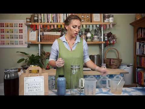 Setting Up An Organic Indigo Dye Vat