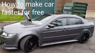 HOW TO MAKE YOUR CAR FASTER FOR FREE