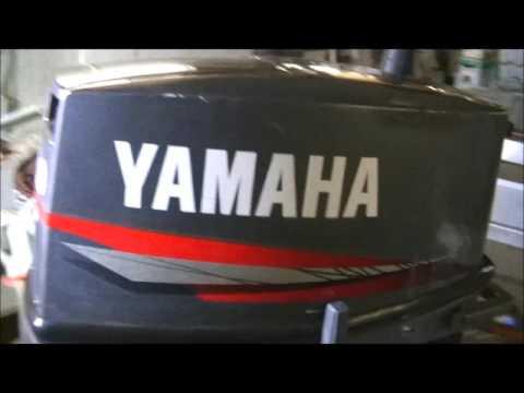 Обзорчик лодочного мотора Yamaha 20 CMHS и немного про ушлых с Авито