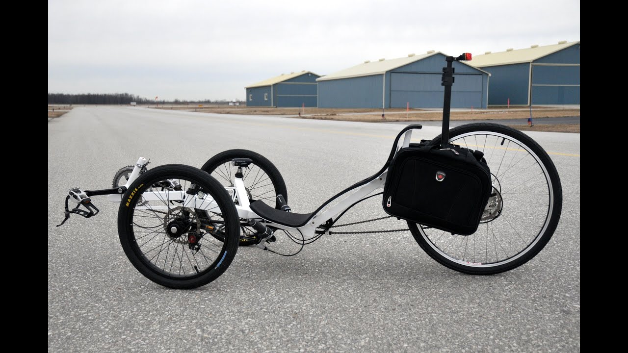 Completed DIY Recumbent Warrior Trike