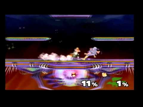 """How To """"PC Drop"""" Or Turn Around Ledge Grab - Melee"""