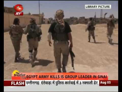 Egypt army kills IS group leader in Sinai