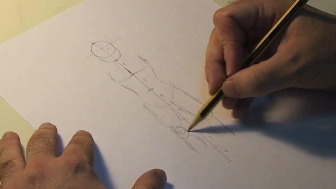 Disseny Gràfic Xavier Rossell Figura Humana Estructura Bàsica