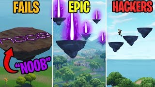 WTF ARE THESE FLOATING RUNE ISLANDS? FAILS vs EPIC vs HACKERS - Fortnite Funny Moments