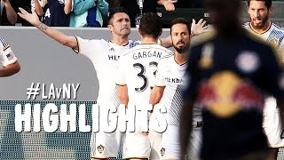 HIGHLIGHTS: LA Galaxy vs New York Red Bulls | September 28, 2014