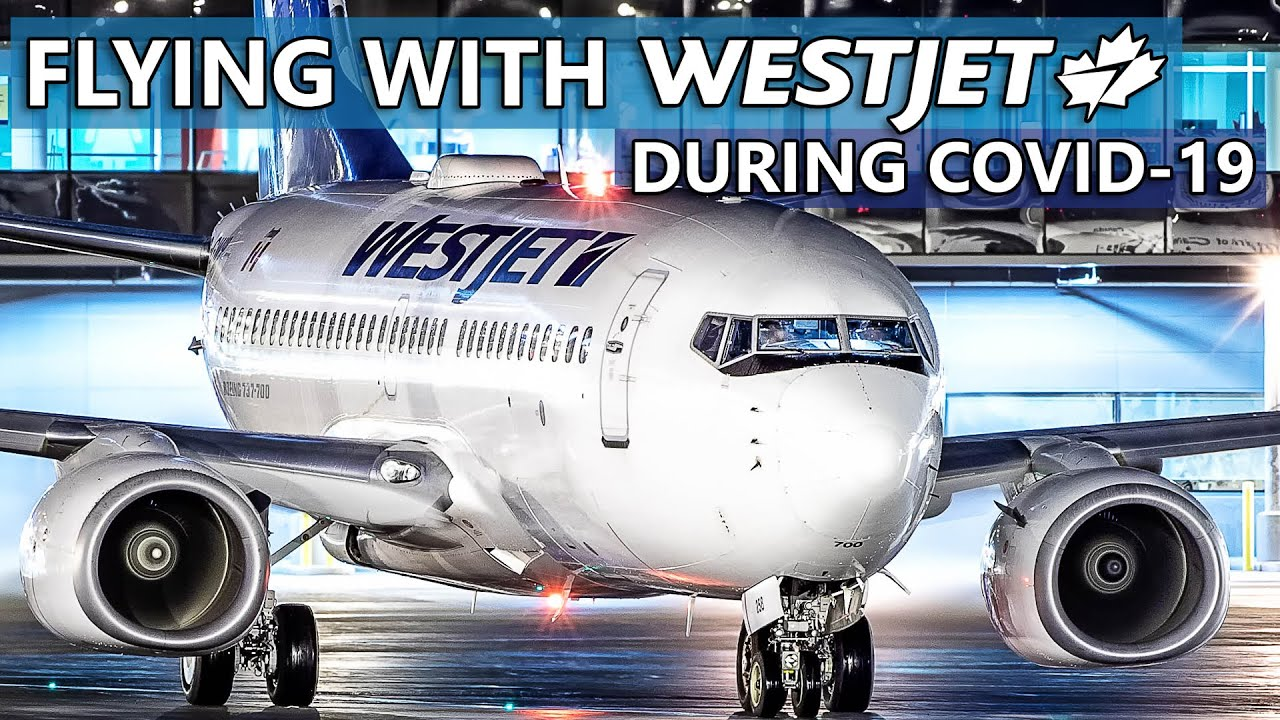 Flying WestJet During COVID-19 | Red-Eye 737-700 Calgary to Toronto