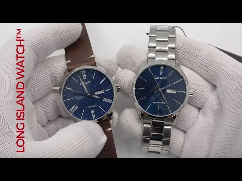 Citizen Automatic In Blue - Add A Strap, Look At The Change!