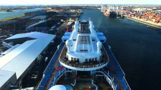 Tour of Quantum of the Seas vessel video