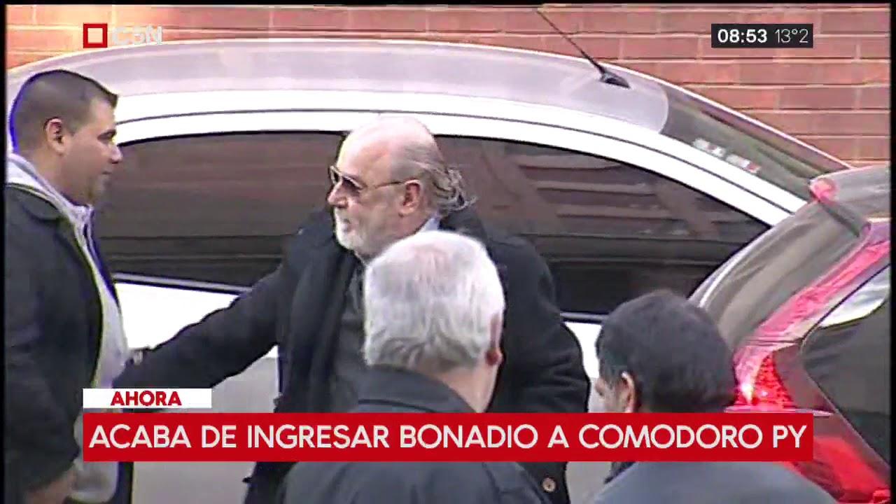 Causa de los cuadernos: Llegó el juez Claudio Bonadío a los tribunales