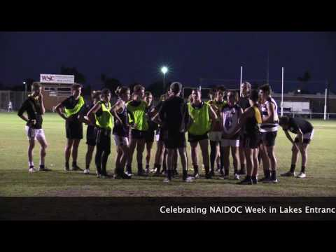 Lakes Entrance FNC Indigenous Round on Saturday 9 July 2016
