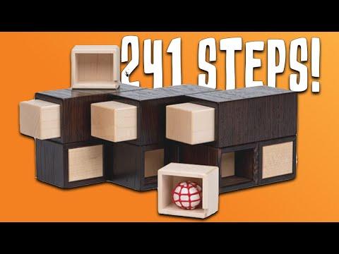 Solving The SUPER Puzzle Box - 241 STEPS!!