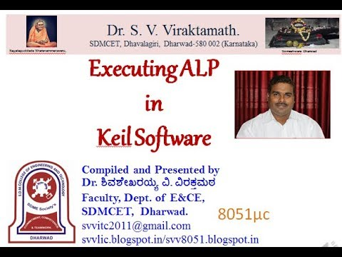 8051 Assembly programming in Keil