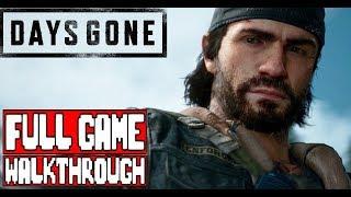 DAYS GONE Full Game Walkthrough - No Commentary (#DaysGone Full Gameplay Walkthrough) - copyprovided