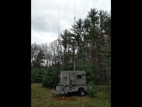 Decommissioned military communications shelter for ham radio part 2