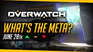 Overwatch   DVA META RETURNS & RIP HOG - What's the Meta (June 28th)