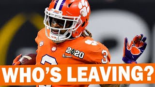 Who's Leaving For The NFL? - Clemson Tigers Update