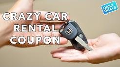 Crazy Car Rental Coupon and Savings - The Deal Guy