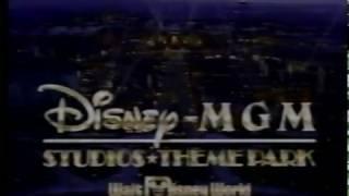 Disney MGM Hollywood Studios commercial (1989)