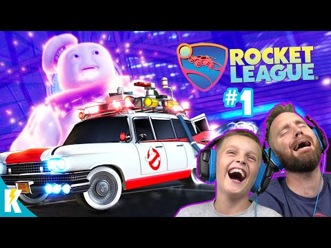 Rocket League Radical Summer Event #1 With GHOSTBUSTERS! K-City GAMING
