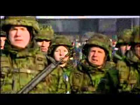 24.02.2011 1055 - Eesti Vabariik 93. Kaitsejudude paraad Vabaduse vljakul.avi