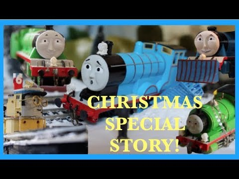'Bridging The Gap' Christmas Story Special OO / HO THOMAS & FRIENDS