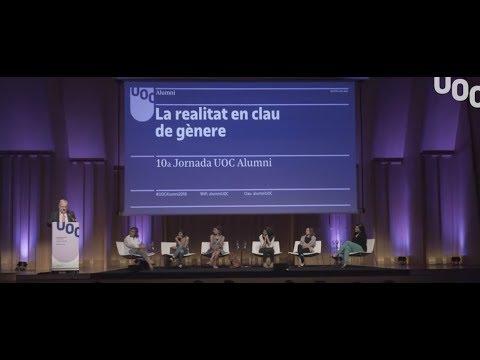 La REALIDAD en clave de GÉNERO Jornada Alumni Barcelona 2018 | UOC