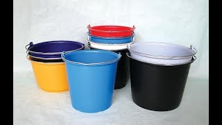 2 amazing ideas to recycle plastic buckets/zaha diy ideas