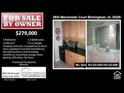 3 Bedroom House For Sale near Louis Pizitz Middle School in Birmingham AL