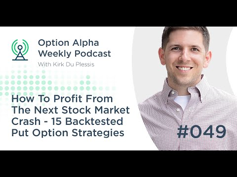 How To Profit From The Next Stock Market Crash – 15 Backtested Put Option Strategies - Show #049