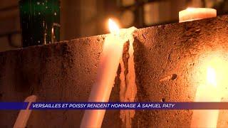 Yvelines | Versailles et Poissy rendent hommage à Samuel Paty