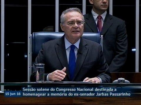Renan Calheiros destaca Mobral e causas indígenas dentre questões defendidas por Jarbas Passarinho