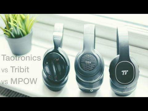 TaoTronics Vs Tribit Vs MPOW Bluetooth Headphones: Budget Tech #2