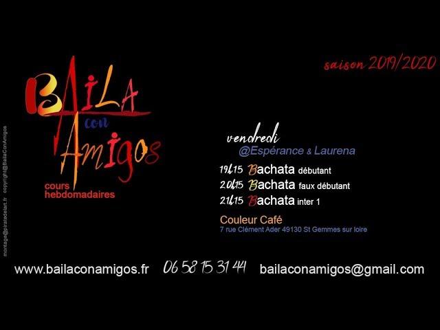 Baila con Amigos - cours bachata