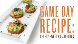 Sweet Potato Bites for the Big Game | Young Living Essential Oils