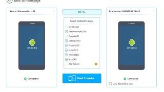 Wondershare MobileTrans One-Click Phone to Phone Transfer (Arabic)