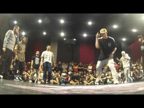 UNLUCKY VS CHINA BBOY [RADIKAL FORZE 2016] BBOY 4VS4
