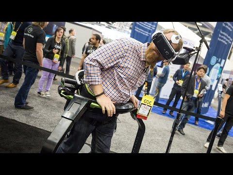 Hands-On: Dreadhalls + GearVR + Omni Treadmill