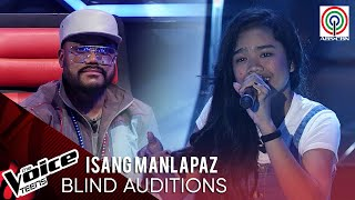 Isang Manlapaz - Isang Linggong Pag-ibig | Blind Audition | The Voice Teens Philippines 2020